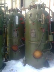 Паровой котел парогенератор  400 килограмов пара в час , КД- 400 с военного хранения